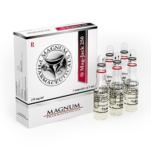 Trenbolone Acetate, Drostanolone Propionate, Testosterone Propionate in USA: low prices for Magnum Mag-Jack 250 in USA