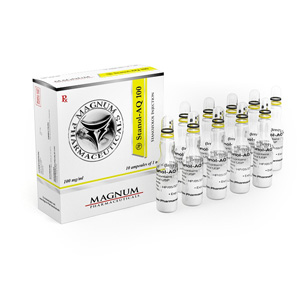 Stanozolol injection (Winstrol depot) in USA: low prices for Magnum Stanol-AQ 100 in USA