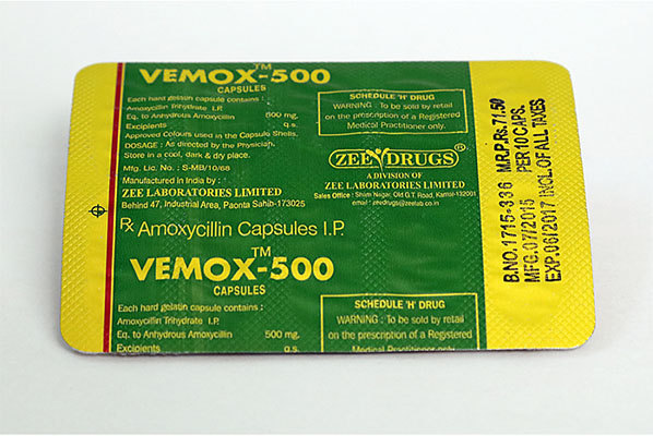 Skin in USA: low prices for Vemox 500 in USA