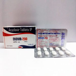 Acyclovir (Zovirax) in USA: low prices for Ekovir in USA